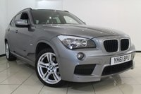 USED 2011 61 BMW X1 2.0 XDRIVE 20D M SPORT 5DR AUTOMATIC 174 BHP XDRIVE20D FULL BMW SERVICE HISTORY + 0% FINANCE AVAILABLE T&C'S APPLY + HEATED LEATHER SEATS + M SPORT PACKAGE + PARKING SENSORS + CRUISE CONTROL + MULTI FUNCTION WHEEL + 17 INCH ALLOY WHEELS