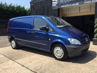 2012 MERCEDES-BENZ VITO 2.1 113 CDI 1d 136 BHP £SOLD