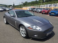 USED 2007 07 JAGUAR XK 4.2 XKR SUPERCHARGED COUPE AUTO 416 BHP Local car with only 16,000 miles & FSH