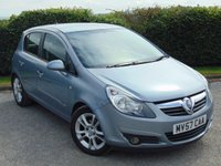USED 2007 57 VAUXHALL CORSA 1.2 SXI A/C 16V 5d * IDEAL FIRST CAR * FULL SERVICE HISTORY * 12 MONTHS MOT *