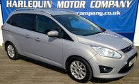 USED 2012 61 FORD GRAND C-MAX 2.0 GRAND TITANIUM TDCI 5d AUTO 138 BHP WE HAVE FOUND ANOTHER RARE CAR IN MICASTONE METALLIC  1 LADY OWNER FORD GRAND C-MAX 2.0 TURBO DIESEL TITANIUM AUTOMATIC 7 SEATS FULL FORD SERVICE HISTORY Y-SPOKE ALLOYS CLIMATE CONTROL 6 FORD SERVICE STAMPS LAST SERVICED JAN.2017@ 76888 MILES