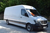 USED 2014 14 MERCEDES-BENZ SPRINTER 2.1 313 CDI LWB  129 BHP