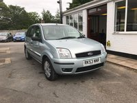 2004 FORD FUSION 1.6 FUSION 3 5d 100 BHP £1599.00