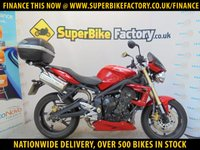USED 2011 11 TRIUMPH STREET TRIPLE  GOOD & BAD CREDIT ACCEPTED, OVER 500+ BIKES
