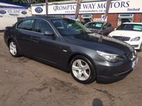 USED 2010 10 BMW 5 SERIES 2.0 520D SE BUSINESS EDITION 4d 175 BHP 0% FINANCE AVAILABLE PLEASE CALL 01204 317705