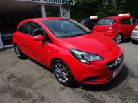 USED 2015 15 VAUXHALL CORSA 1.2 EXCITE AC 3d 69 BHP Full Service History (Vauxhall + ourselves), One Owner from new, Great on fuel!