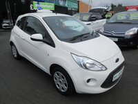 USED 2013 13 FORD KA 1.2 EDGE 3d 69 BHP 3 DOOR HATCHBACK ...LOW MILES