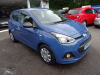 USED 2015 15 HYUNDAI I10 1.0 S 5d 65 BHP Full Service History, Just Serviced by ourselves, MOT until June 2018, One Owner from new, Excellent on fuel! Only £20 Road Tax! Lowest Insurance Group! Balance of Hyundai Warranty until 2020