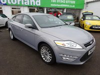 USED 2013 13 FORD MONDEO 1.6 ZETEC BUSINESS EDITION TDCI S/S 5d 114 BHP 12 MONTHS MOT.. 6 MONTHS WARRANTY