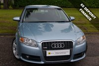 USED 2006 06 AUDI A4 2.0 TDI S LINE TDV 4d 140 BHP DIESEL S LINE*** £0 DEPOSIT FINANCE AVAILABLE