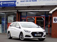 USED 2016 16 HYUNDAI I40 1.7 CRDi SE NAV BUSINESS BLUE DRIVE 5dr 114 BHP *ONLY 9.9% APR with FREE Servicing*