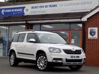 USED 2014 14 SKODA YETI 2.0 TDi OUTDOOR ELEGANCE CR 5dr * Full Leather * *ONLY 9.9% APR with FREE Servicing*