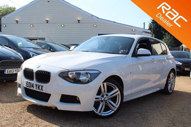 View our 2014 14 BMW 1 SERIES 2.0 118D M SPORT 5d 141 BHP