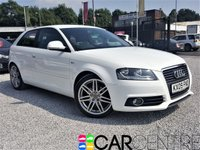 USED 2009 09 AUDI A3 2.0 TDI S LINE 3d 138 BHP 1 PREVIOUS OWNER + FULL SERVICE HISTORY
