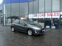 USED 2012 12 PEUGEOT 308 1.6 HDI ACTIVE 5d 92 BHP £0 DEPOSIT, LOW RATE FINANCE ANYONE, DRIVE AWAY TODAY!!