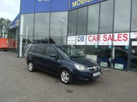 USED 2012 12 VAUXHALL ZAFIRA 1.6 EXCLUSIV 5d 113 BHP £0 DEPOSIT, LOW RATE FINANCE ANYONE, DRIVE AWAY TODAY!!