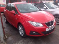 USED 2011 11 SEAT IBIZA 1.4 CHILL 5d 85 BHP Stylish popular 5 door, great value, superb 12 months warranty