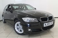 USED 2009 09 BMW 3 SERIES 2.0 318I ES 4DR AUTOMATIC 141 BHP AIR CONDITIONING + 0% FINANCE AVAILABLE T&C'S APPLY + BLUETOOTH + MULTI FUNCTION WHEEL + RADIO/CD + ALLOY WHEELS