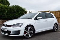 USED 2016 16 VOLKSWAGEN GOLF 2.0 GTI 5d 218 BHP ONLY 4515 MILES ON THE CLOCK, ONE OWNER, FULL SERVICE HISTORY, SAT NAV, BLUETOOTH TELEPHONE PREPARATION, FRONT & REAR PARKING SENSORS, HEATED FRONT SEATS, CRUISE CONTROL, DUAL ZONE CLIMATE CONTROL & MUCH MORE!