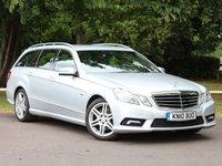 USED 2010 10 MERCEDES-BENZ E CLASS 2.1 E250 CDI BLUEEFFICIENCY SPORT 5d AUTO 204 BHP £231 PCM With £1199 Deposit