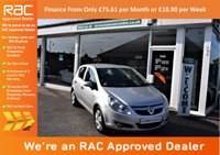 USED 2010 10 VAUXHALL CORSA 1.2 i 16v Energy 5dr (a/c) FINANCE FROM ONLY £75.61pm