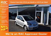 USED 2011 61 TOYOTA AYGO 1.0 VVT-i Ice Multimode 5dr FDSH + AUTOMATIC + LOW MILES