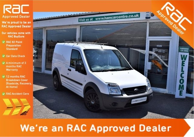 2012 61 FORD TRANSIT CONNECT 1.8 TDCi T220 SWB Panel Van 4dr DPF