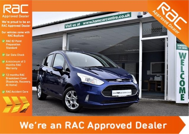 2014 14 FORD B-MAX 1.0 T EcoBoost Zetec 5dr (start/stop)