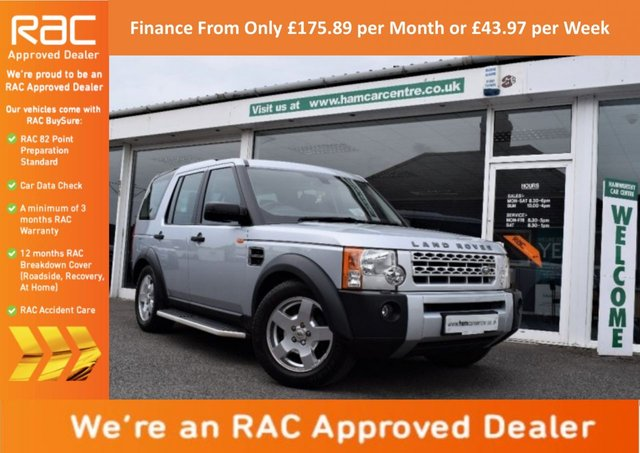 2006 06 LAND ROVER DISCOVERY 3 2.7 TD V6 S 5dr