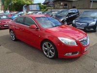 2012 VAUXHALL INSIGNIA 2.0 SRI NAV VX-LINE RED CDTI 5d 157 BHP £SOLD