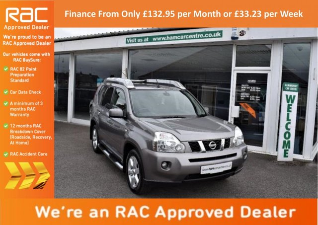 2008 08 NISSAN X-TRAIL 2.0 dCi Arctix Expedition Sports Adventure 5dr