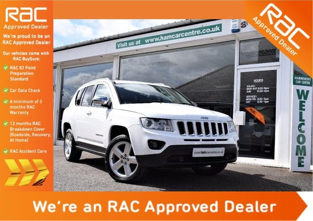 2012 12 JEEP COMPASS 2.2 CRD Limited Station Wagon 4WD 5dr
