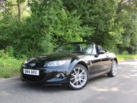 USED 2014 14 MAZDA MX-5 2.0 SPORT TECH NAV CONVERTIBLE 158 BHP