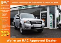 USED 2011 11 FORD RANGER 2.5 TDCi Thunder Double Cab Pickup 4x4 4dr PARROT HANDSFREE+FSH+AIR CON