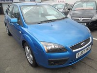 USED 2007 07 FORD FOCUS 1.6 ZETEC CLIMATE 16V 5d AUTOMATIC  101 BHP