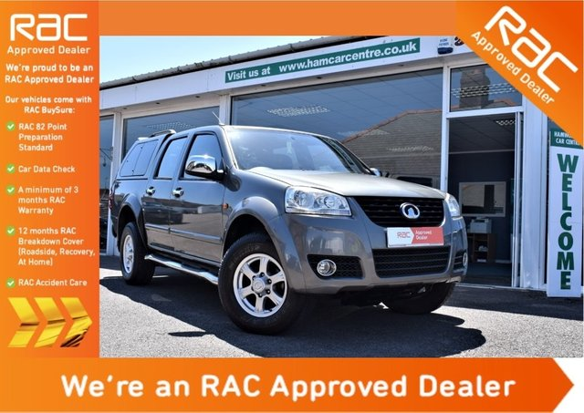 2012 12 GREAT WALL STEED 2.0 TD SE Pickup 4X4 4dr