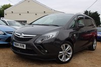 USED 2014 14 VAUXHALL ZAFIRA TOURER 2.0 SRI CDTI 5d 128 BHP Parking Aid, Cruise Control & more