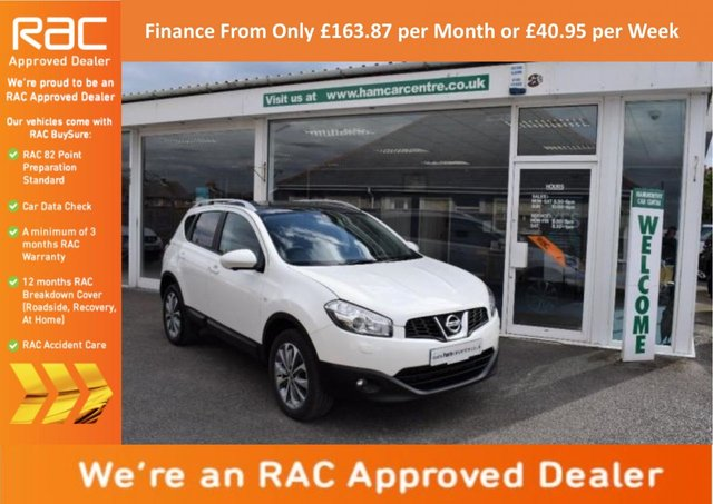2013 63 NISSAN QASHQAI 1.6 dCi Tekna 2WD 5dr (start/stop)