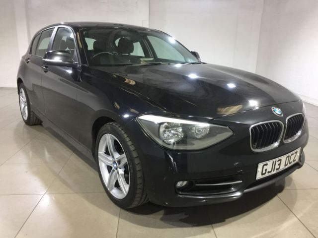 View our 2013 13 BMW 1 SERIES 2.0 118D SPORT 5d 141 BHP