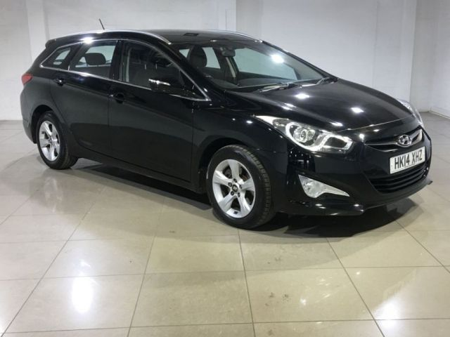 View our 2014 14 HYUNDAI I40 1.7 CRDI ACTIVE BLUE DRIVE 5d 114 BHP