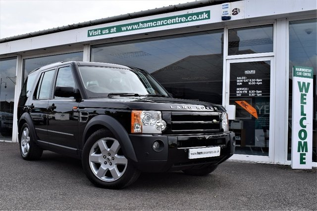 2007 57 LAND ROVER DISCOVERY 3 2.7 TD V6 HSE 5dr