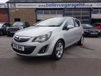 USED 2012 12 VAUXHALL CORSA 1.4 SXI AC 5d 98 BHP GREAT VALUE FAMILY CAR