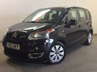 USED 2012 12 CITROEN C3 PICASSO 1.6 PICASSO VTR PLUS HDI 5d 90 BHP CRUISE MOT 03/18 £30 YEAR ROAD TAX. 61 MPG. STUNNING BLACK MET WITH CONTRASTING BLACK/GREY CLOTH TRIM. CRUISE CONTROL. 16 INCH ALLOYS. COLOUR CODED TRIMS. CLIMATE CONTROL. R/CD PLAYER. MFSW. MOT 03/18. FCA FINANCE APPROVED DEALER. TEL 01937 849492.