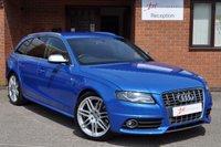 USED 2009 59 AUDI S4 AVANT 3.0 S4 AVANT QUATTRO 5d AUTO 329 BHP SPRINT BLUE FULL AUDI HISTORY