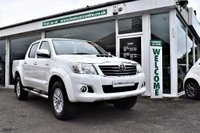 USED 2014 64 TOYOTA HI-LUX 3.0 D-4D 4x4 Invincible Double Cab Pickup 4dr FINANCE FROM ONLY £317.22 pm