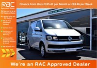 USED 2016 16 VOLKSWAGEN TRANSPORTER 2.0 TDI BlueMotion Tech T28 Highline Panel Van 5dr (LWB) T6 MODEL+VW WARRANTY+1 OWNER