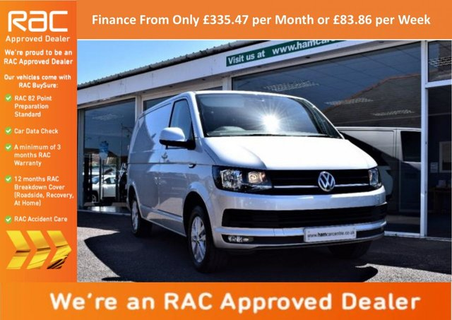 2016 16 VOLKSWAGEN TRANSPORTER 2.0 TDI BlueMotion Tech T28 Highline Panel Van 5dr (LWB)
