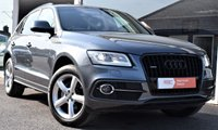 2013 AUDI Q5 2.0 TDI S Line Quattro 5dr (start/stop) 6 SPEED MANUAL ONLY £195 P/YEAR TAX £18990.00