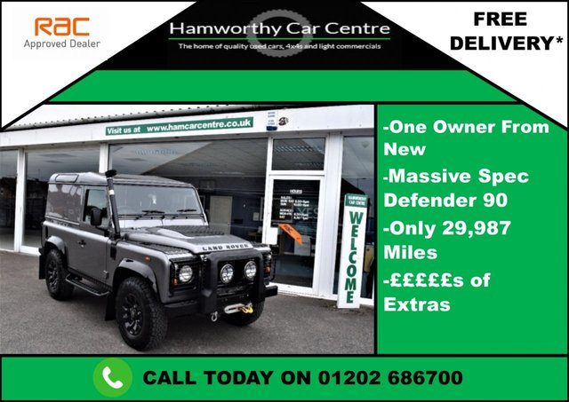 2007 LAND ROVER DEFENDER 90 2.4 TDi County Hard Top 3dr