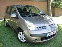 2007 NISSAN NOTE 1.6 SE 5d AUTO 109 BHP £2480.00